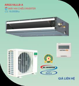 Điều hòa nối ống gió General 2 chiều ARGG18LLLB-A inverter 18.000BTU